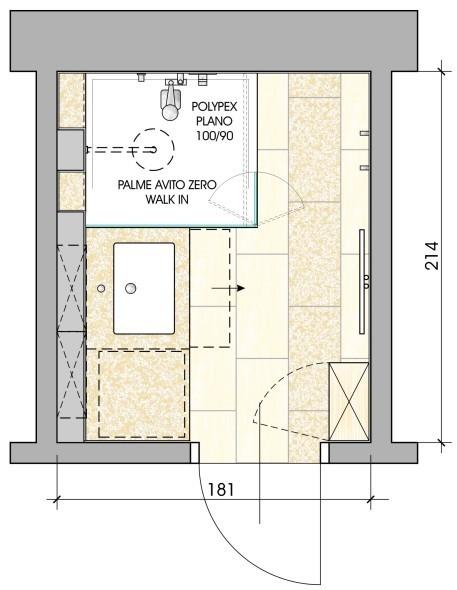 kleinbad. Black Bedroom Furniture Sets. Home Design Ideas