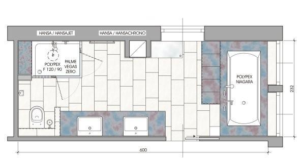 Schlauchbad for Badezimmer ideen 9qm